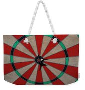 Bulls Eye Weekender Tote Bag