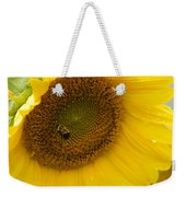 Bumble Bee And The Sunflower Weekender Tote Bag