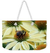 Bumble Bee At Work Weekender Tote Bag