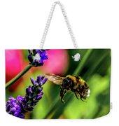 Bumble Bee In Flight Weekender Tote Bag