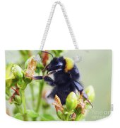 Bumble Bee On Flower Weekender Tote Bag