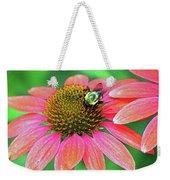 Bumble Bee On Flower Weekender Tote Bag