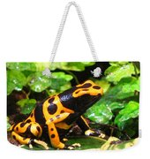 Bumble Bee Poison Frog Weekender Tote Bag