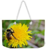 Bumble Bees And Dandelions Weekender Tote Bag
