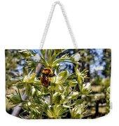 Bumblebee On Elkweed Blossoms Weekender Tote Bag