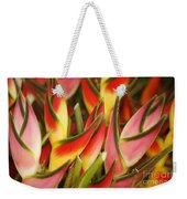 Bunch Of Heliconia Weekender Tote Bag
