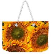 Bunch Of Sunflowers Weekender Tote Bag