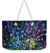 Bunch Of Wild Flowers Weekender Tote Bag