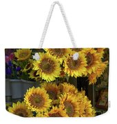 Bunches Of Sunflowers Weekender Tote Bag