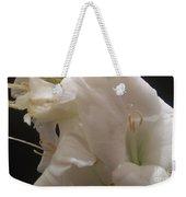Bundle Of White Weekender Tote Bag