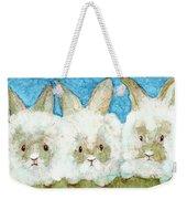 Bunnies Weekender Tote Bag