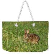 Bunny At Breakfast Weekender Tote Bag