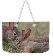 Bunny Encounter Weekender Tote Bag