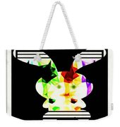 Bunny In Abstract Weekender Tote Bag