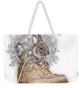Bunny In Boot Weekender Tote Bag