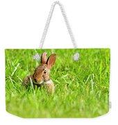 Bunny In Field  Weekender Tote Bag