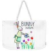 Bunny Nature Weekender Tote Bag