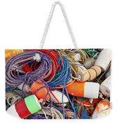 Buoys And Rope Weekender Tote Bag