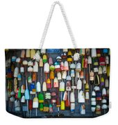 Buoys, Martha's Vineyard Weekender Tote Bag
