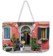 Burano Flower Shop Weekender Tote Bag