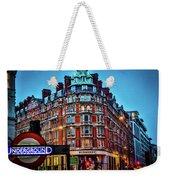 Burberry - London Underground Weekender Tote Bag