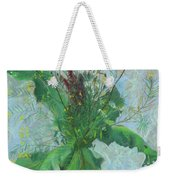 Burdock Leaves  Weekender Tote Bag