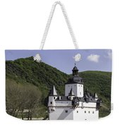 Burg Pfalzgrafenstein Squared Weekender Tote Bag