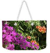 Burgazada Island Flower Color Weekender Tote Bag