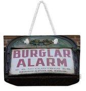 Burglar Alarm Weekender Tote Bag
