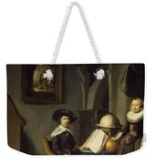 Burgomaster Hasselaar And His Wife Weekender Tote Bag