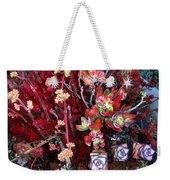 Burgundy Succulents. Multi Color Beauty Weekender Tote Bag