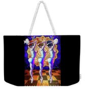 Burlesque Dancers Act One Weekender Tote Bag