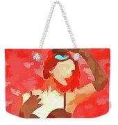 Burlesque Red Weekender Tote Bag