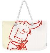 Burlesque Sketch 1 Weekender Tote Bag