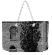 Burlington, North Carolina Sidewalk Bw Weekender Tote Bag