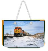 Burlington Northern Santa Fe Bnsf - Railimages@aol.com Weekender Tote Bag