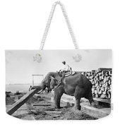 Burma: Elephant Weekender Tote Bag