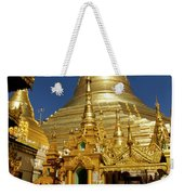 Burma's Golden Pagoda Weekender Tote Bag