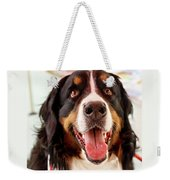 Burmese Mountain Dog Weekender Tote Bag