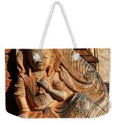 Burmese Pagoda Sculpture Weekender Tote Bag