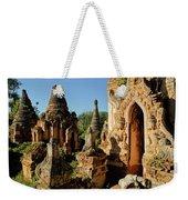 Burmese Pagodas In Ruins Weekender Tote Bag