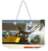 Burn Out On The Track Weekender Tote Bag