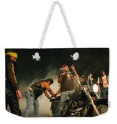 Burn Out Weekender Tote Bag