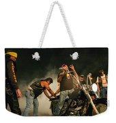 Burn Out Weekender Tote Bag