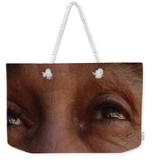 Burned Eyes Weekender Tote Bag