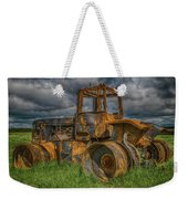 Burned Out Farm Tractor Weekender Tote Bag