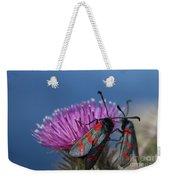 Burnet Moths Weekender Tote Bag