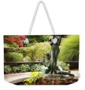 Burnett Fountain Garden Weekender Tote Bag