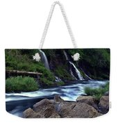 Burney Falls Creek Weekender Tote Bag