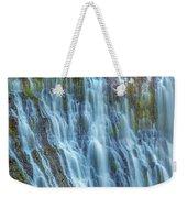 Burney Falls Detail Weekender Tote Bag
